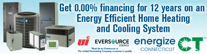 Air Conditioning Service and Installation EnergizeCT Rebate offer