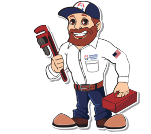 HVAC cartoon man