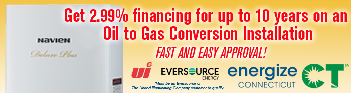 Oil to Gas Conversion EnergizeCT Rebate offer